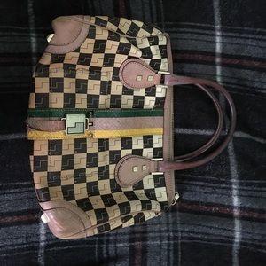 L.A.M.B. Ombré Checkerboard Mandeville