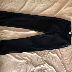 Black high waisted dress pants