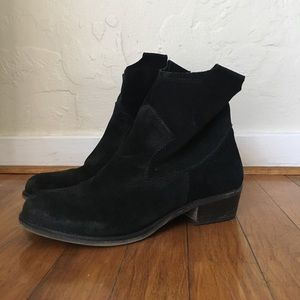 14th & Union suede booties