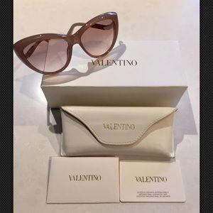 VALENTINO Sunglasses w/Swarovski crystals V632SR