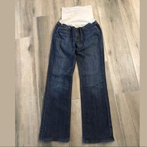 7 for all mankind Bootcut maternity jeans Sz 32
