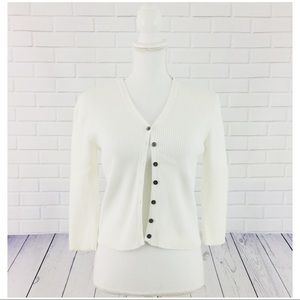 6 for $25! The Limited Ribbed Knit Shrug Sweater