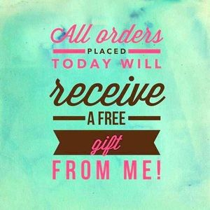 Other - Free gift with all Orders EXPIRES DECEMBER 31st