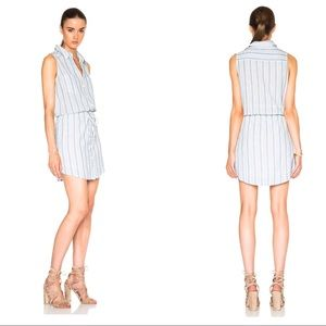 "PAIGE ""Yvonne"" Sleeveless Shirt Dress"