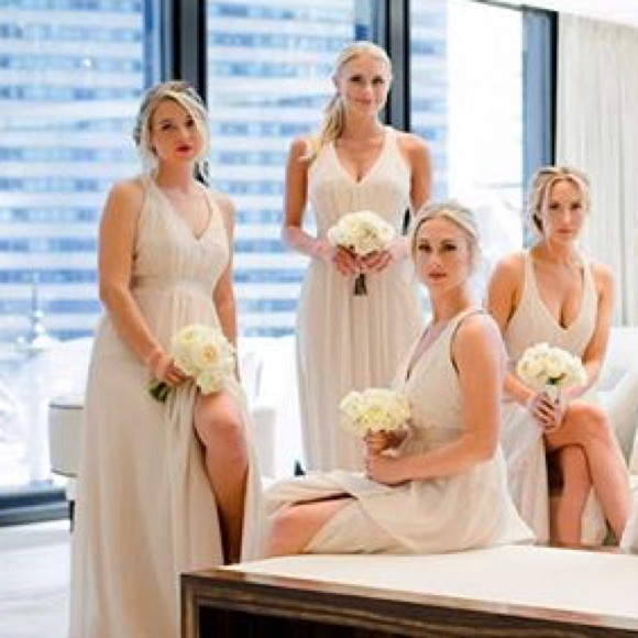 3dd846469a6 Vera Wang David s Bridal Bridesmaid Champagne. M 5a0b212756b2d684e401f5de.  Other Dresses ...