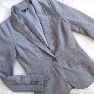 Apartment 9 Gray One Button Blazer