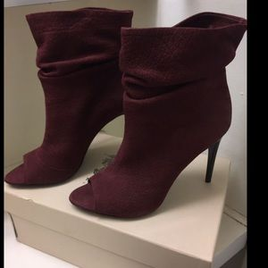 Burberry Ankle boots Burg/Wine color