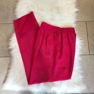 Hot Pink Trousers Pants