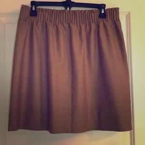 J Crew sidewalk skirt.