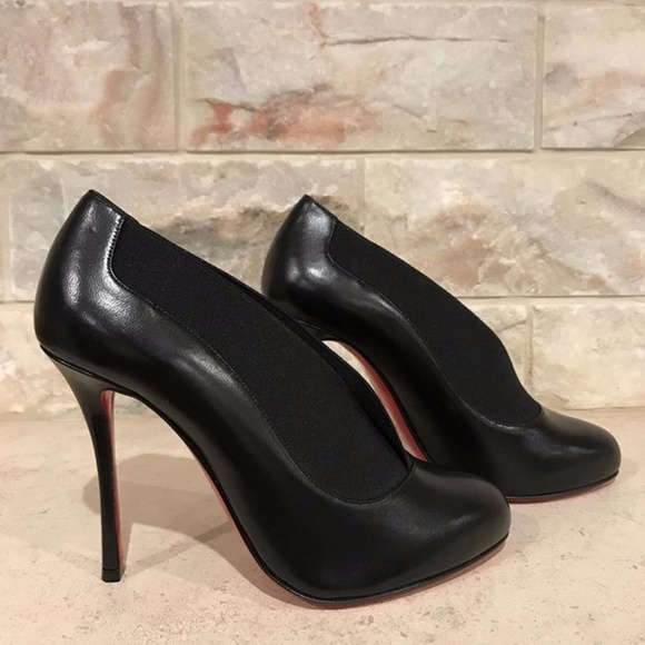 cheap wide range of Christian Louboutin 2017 Toot Couverte 100 Booties sale latest collections buy cheap buy sale low price fee shipping V6qnHHlvM
