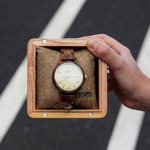 Accessories - Women's Wood Watch