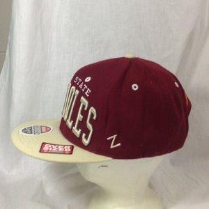 Zephyr Accessories - Florida St Seminoles Oversized Snapback Zephyr Hat 4490962c222