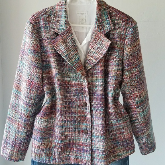 0f587c5d0 Coldwater Creek Jackets & Blazers - Coldwater Creek tweed jacket ...