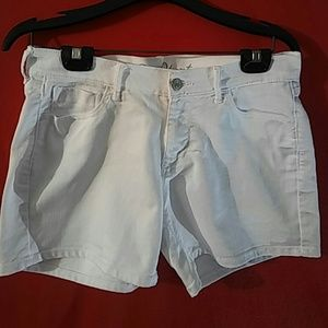 Old Navy Sweetheart womens shorts white size 6
