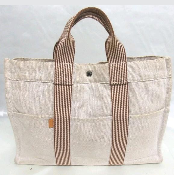 580afda838d2 Hermes Handbags - HERMES Fourre Tout MM canvas tote