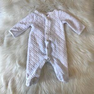Newborn Cozy Warm 3 Piece Baby Footie Set
