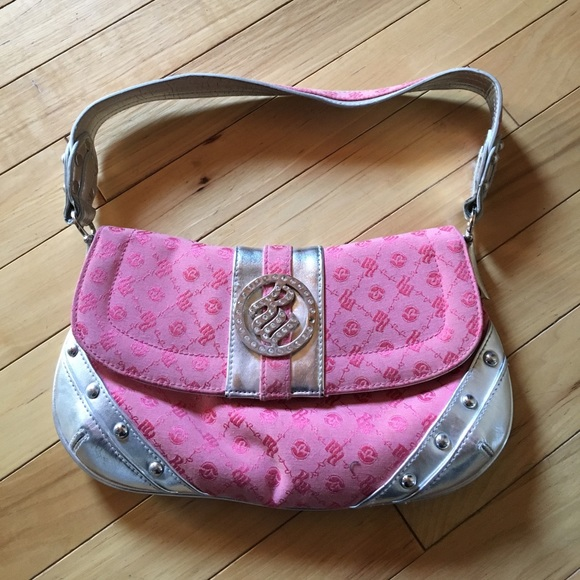 650c9956e Rocawear Bags | Roca Wear Pink And Silver Purse | Poshmark
