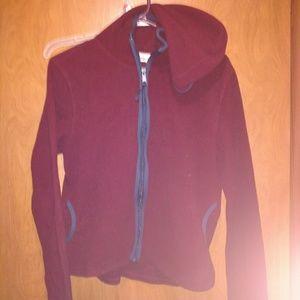 "Aeropostal XL ""runs small"" fleece zip up hoodie"