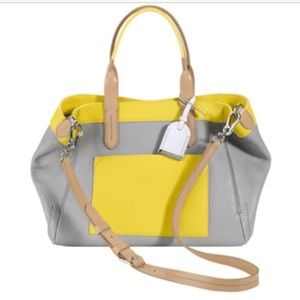 Cole Haan Crosby Colorblock shopper tote