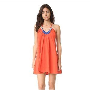 Red-Orange Sun Dress
