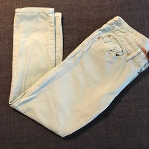 Barely worn Tory Burch Mint Jeans