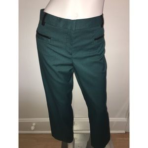 Hunter Green Slim Leg Modern Fit Trouser Pant