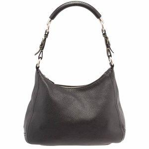 Prada Black Leather Shoulder Bag (13297)