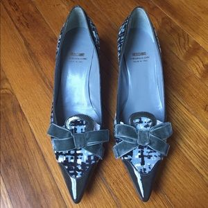 MOSCHINO Cheap & Chic Bow Pumps Shoes. Size 37.5