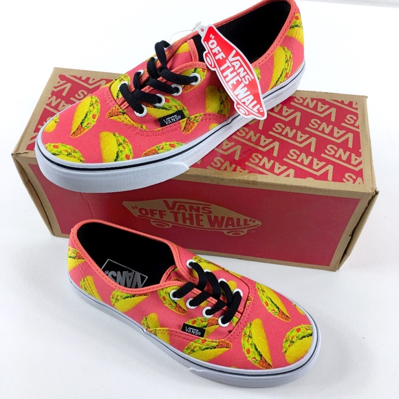 f56a106388 Vans Authentic Late Night Coral Taco RARE
