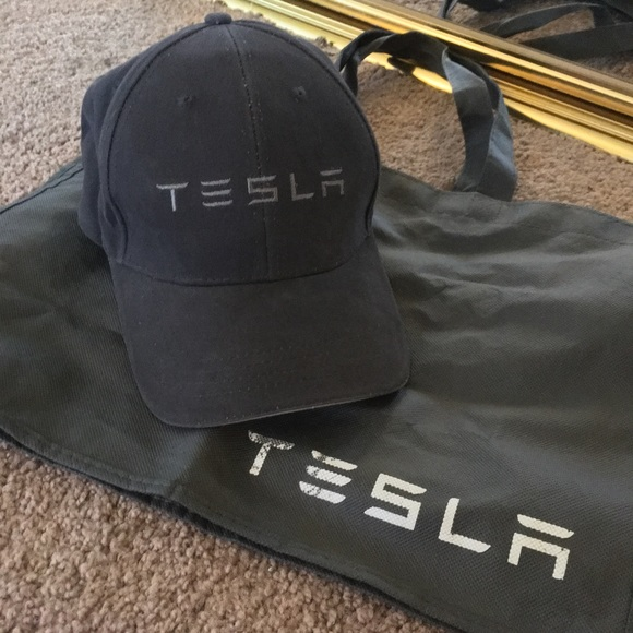 b3c79ce81a522 Accessories - Tesla baseball hat and tote bag