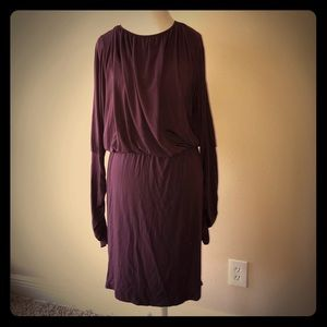 Rachel Pally Plum Open Back Dress Large