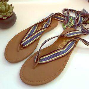 ❤️ Sam & Libby gladiator sandals Size 7 ❤️
