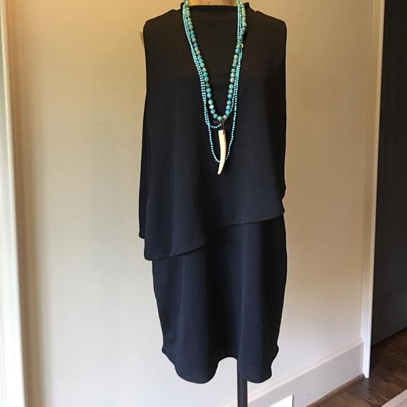 Zara Dresses & Skirts - Zara Black Sleeveless Dress