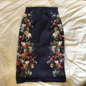 Zara floral skirt SOLD