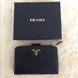 Saffiano Prada Wallet