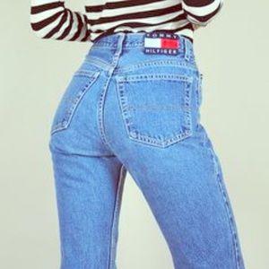•Tommy Hilfiger• Vintage High Waisted Jeans