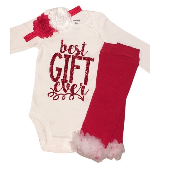 17f138685 Simply Swanky Matching Sets | Best Gift Ever Baby Girl Christmas ...