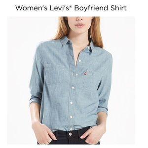 Levi's boyfriend shirt