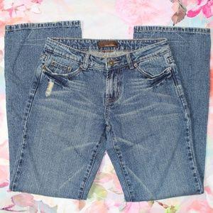 NWT Urban Behavior Distressed Boyfriend Jeans Sz 0
