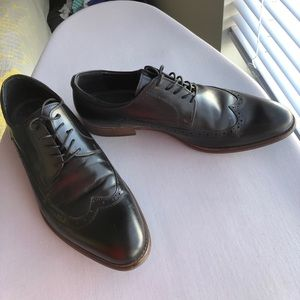 Aldo Black Dress Shoes size 13