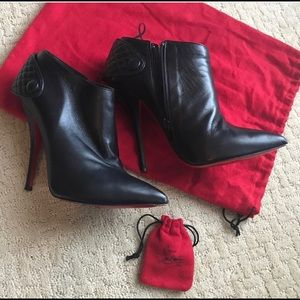 54b4935c9ae Christian Louboutin Ankle Boots. 38.5 fits US 7.5