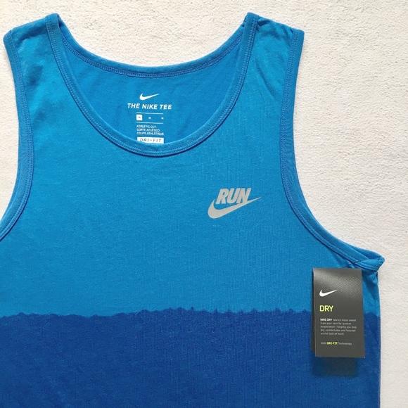 1540e0382a34fe Nike Dip Dye Men s Running Dri-FIT Tank Top