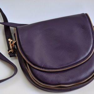 Badgley Mischka Ingrid Eggplant Cross Body Bag