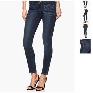 PAIGE Verdugo Ankle Jeans Dark Wash Skinny EUC