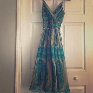 Tracy Reese tea dress.   Vintage