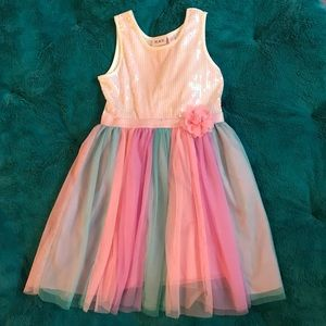 Girls size 10/12 party dress