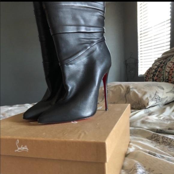 875dfcc9824f Christian Louboutin Shoes - Christian louboutin Ishtar Booty 120 calf