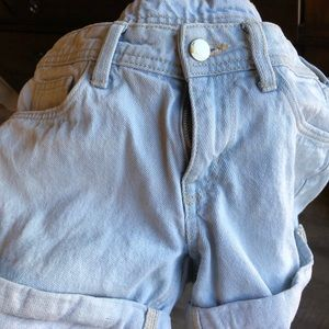 Great condition jeans shorts light blue