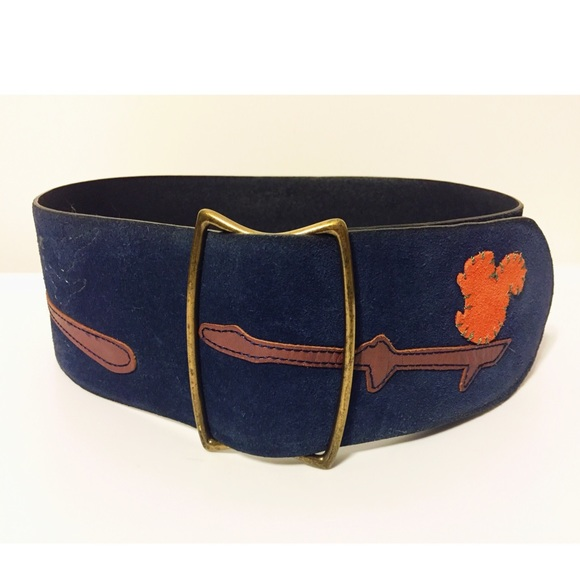 2a4d28bfa Anthropologie Accessories - Anthropologie Women s Suede Leather Wide Belt
