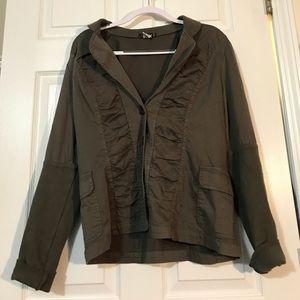 XCVI Olive Green Jacket